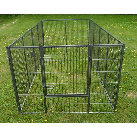 Large High Quality Puppy Run Pen  SIze 2.4m x 1.2m  Galvanised