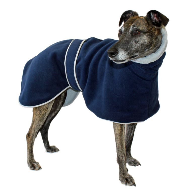 Greyhound Polo Fleece  Dog Coat