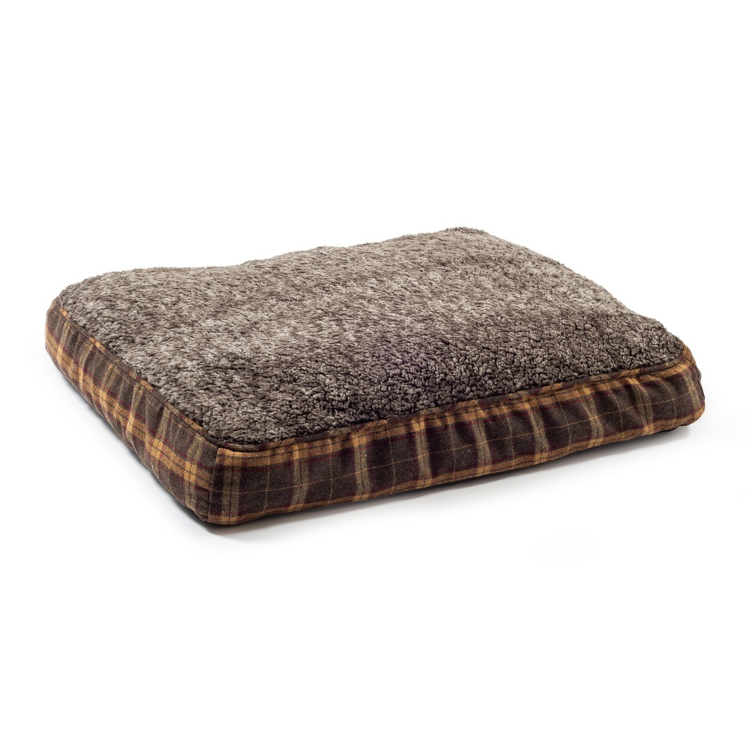 Joint Ease Memory Crumb Dog Beds BROWN