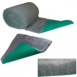Traditional Grey Vet Bedding ROLL WHELPING FLEECE DOG PUPPY PRO BED